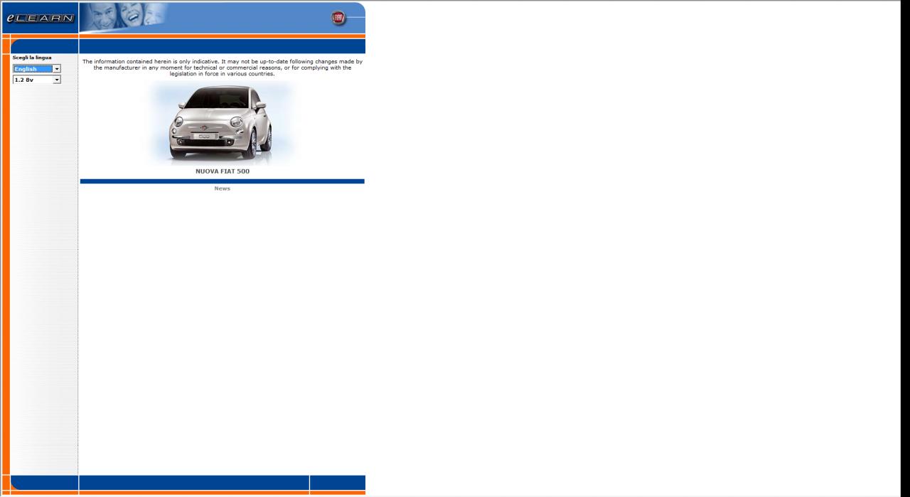 User Manual-i i dijagnosticki podaci za Fiat/Lancia automobile