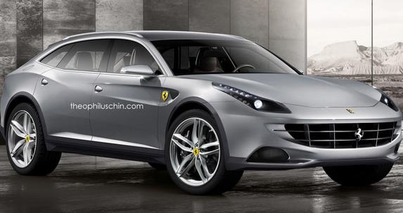 Post in Ferrari (ne)će praviti sedane i SUV modele / Ferrari SUV