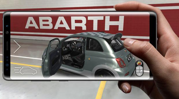 Abarth 695 70° Anniversario - istražite ga pomoću virtuelne realnosti