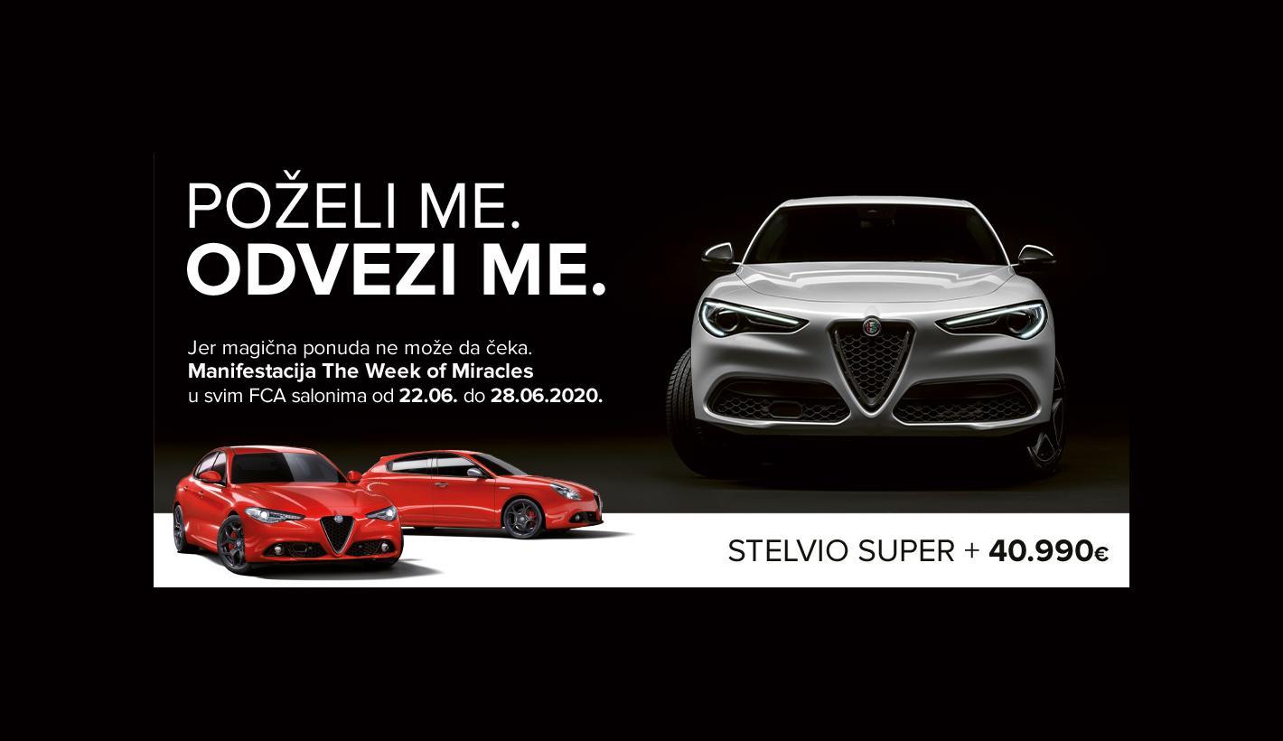 Čudesna ponuda za Alfa Romeo - The Week of Miracles