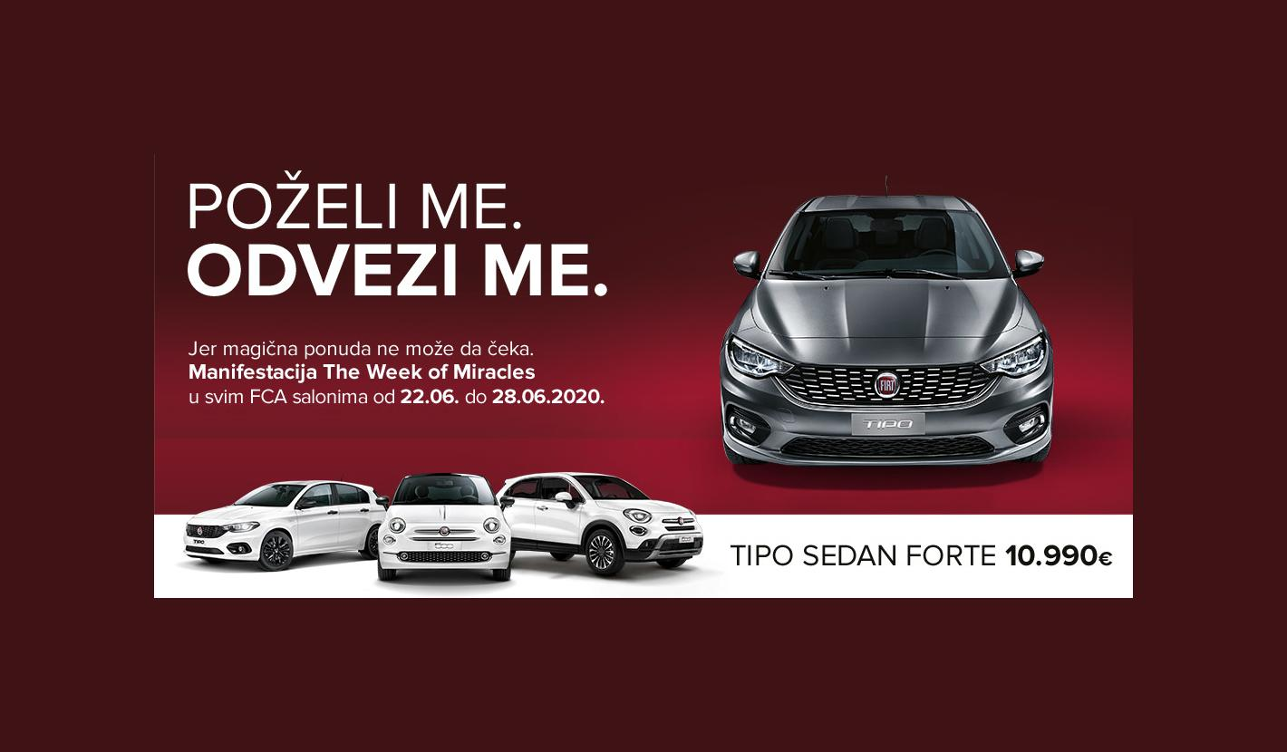 Čudesna ponuda za Fiat - The Week of Miracles