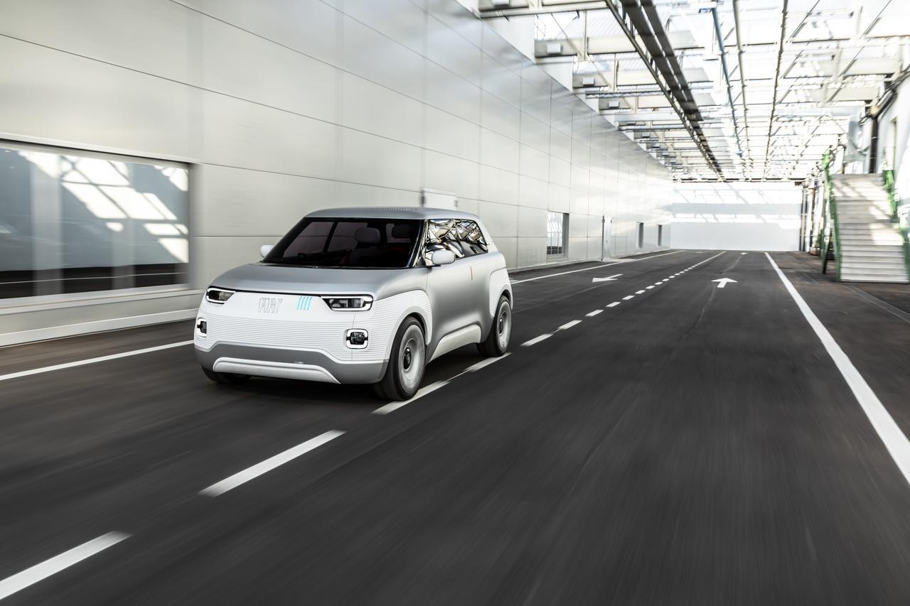 Post in Fiat Centoventi koncept