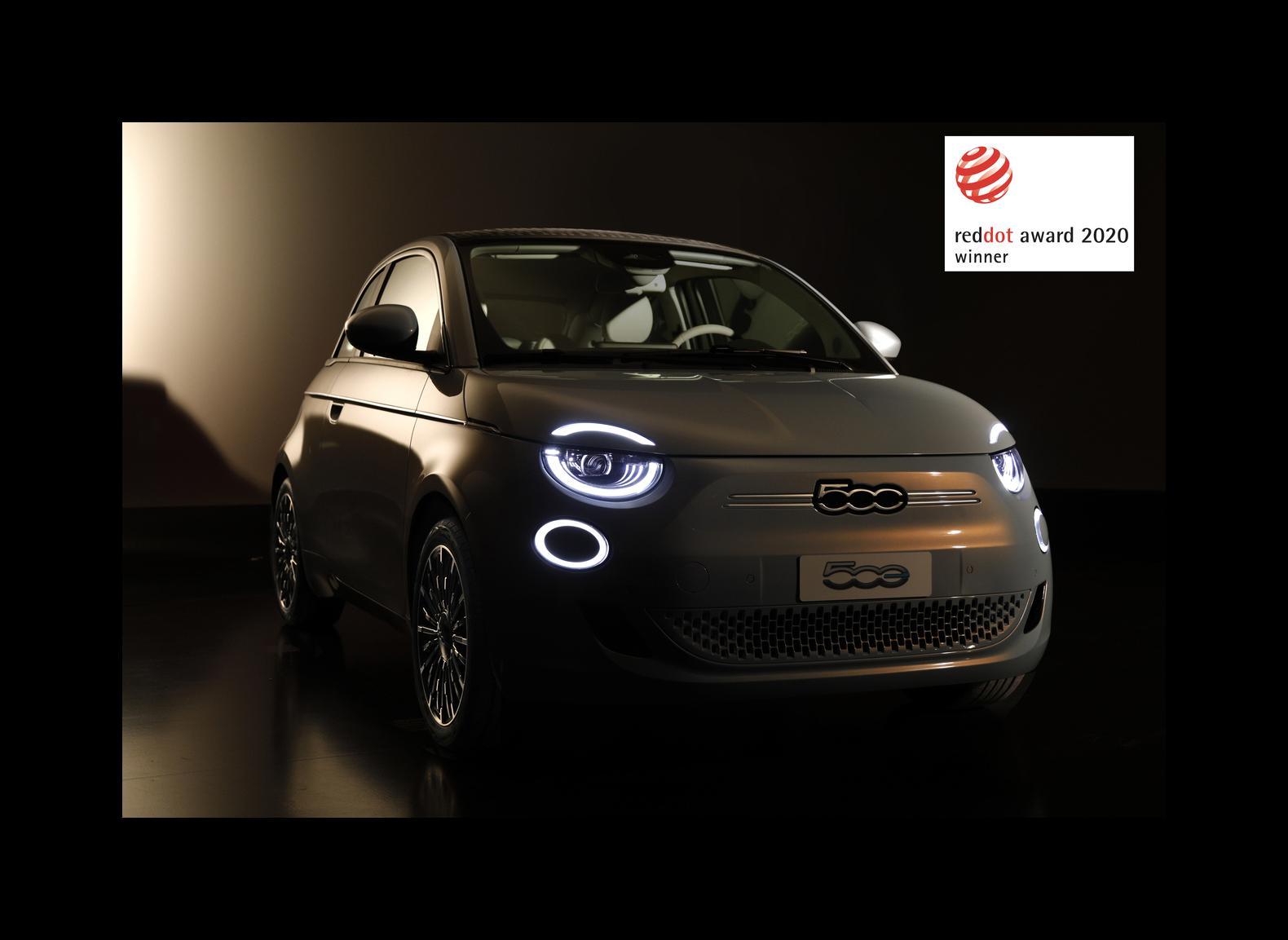Fiat Novi 500 osvojio nagradu ''Red Dot 2020.''