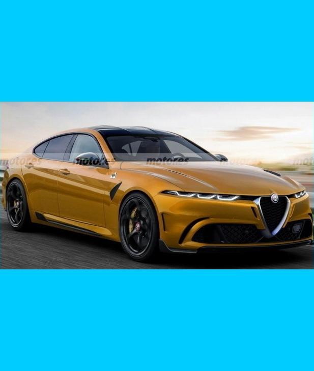 Post in Alfa Romeov rival BMW-u Serije 5 / naslednik 166-ce