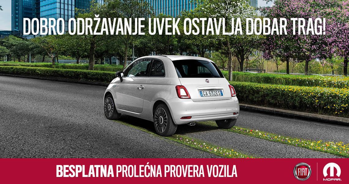 Prolećna FCA/Mopar akcija besplatne provere vozila 2021.