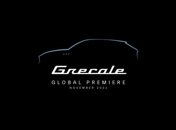 Maserati Grecale u novembru 2021.
