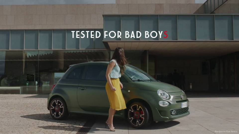 Fiat 500S - ''What bad boyS drive''
